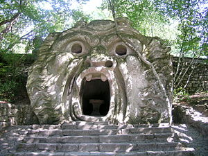 Orcus - Orcus mouth in the Gardens of Bomarzo.