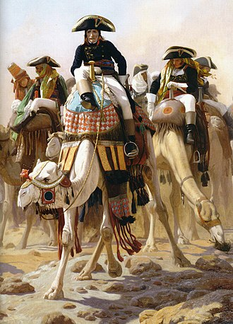 Order of battle of the Armée d'Orient (1798) - General Bonaparte and staff in Egypt