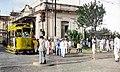 Bonde no ponto de cem reis Joao Pessoa Paraiba, praça Vidal de Negreiros.jpg