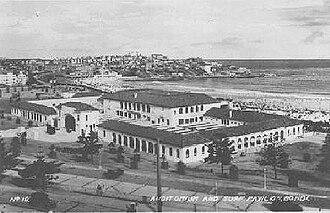 Bondi Pavilion - Bondi Surf Pavilion circa 1930