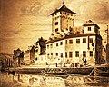Boppard, Kurfürstliche Burg. Federzeichnung (1854) Nikolaus Schlad.jpg