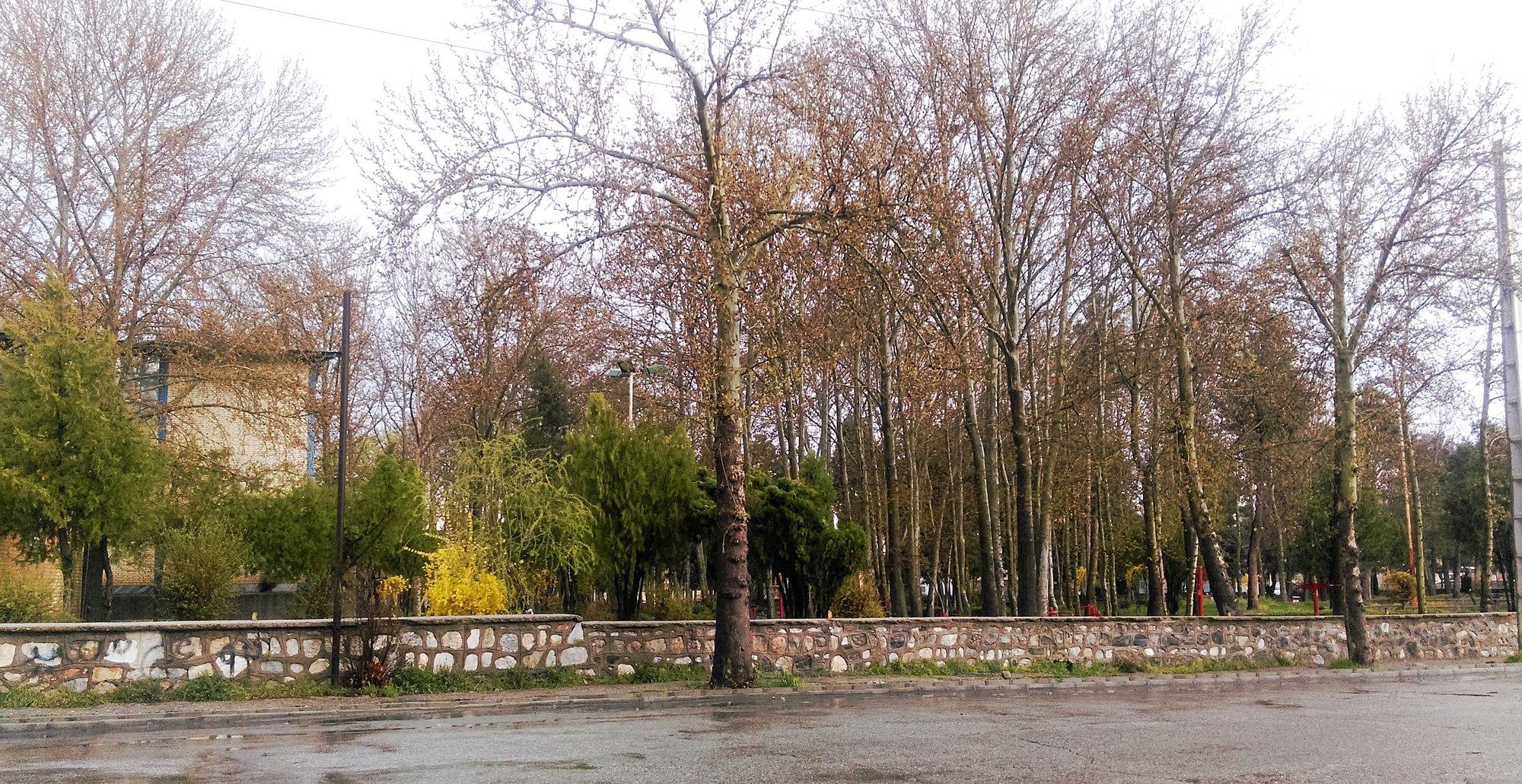 پارک وحدت بروجرد