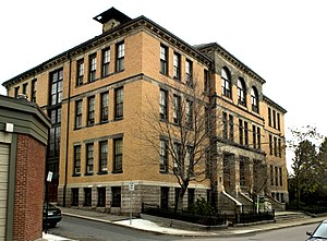 Bowditch School - Image: Bowditch School Boston MA 01