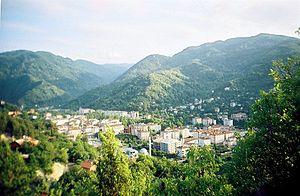 Bozkurt, Kastamonu - A panorama of Bozkurt