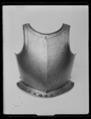 Bröstharnesk, 1600-talets första hälft - Livrustkammaren - 45066.tif