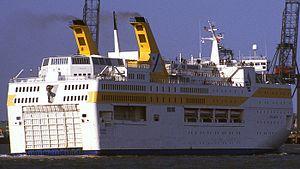 MS Regina Baltica - Braemar in 1986.