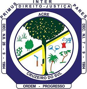Cruzeiro do Sul, Acre - Image: Brasão Cruzeiro do Sul