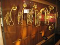 Brass instruments - Musical Instrument Museum, Brussels - IMG 3942.JPG