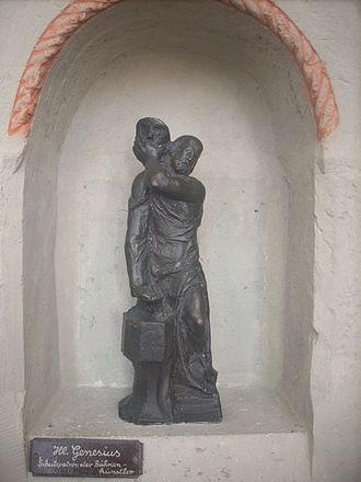 Genesius of Rome - Image: Braunschweig St. Aegidien hl. Genesius