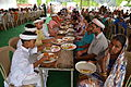 Breakfasting Bhaktas - Rawatpura Sarkar Ashram - Chitrakoot - Satna 2014-07-06 7161.JPG