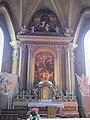 Bressanone, san michele arcangelo, interno 04 altare.JPG