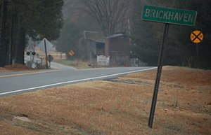 Brickhaven, North Carolina - Brickhaven, North Carolina sign