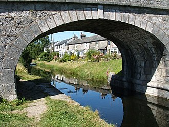 Holme, Cumbria - Image: Bridge over the Lancaster Canal geograph.org.uk 202428