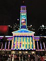 Brisbane City Hall light projection show 2017, 05.jpg