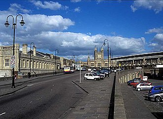 West of England Combined Authority - Image: Bristol Temple Meads approach road (750px)