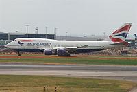 G-CIVB - B744 - British Airways