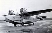 British Guiana Govt Airways Grumman Goose c 1955tr