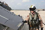 British aviator pilots Harrier for the last time 110805-M-EY704-119.jpg