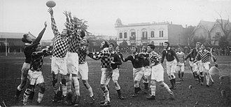 1927 British Lions tour to Argentina - The Lions playing an Universitario–Gimnasia y Esgrima combined in Plaza Jewell, Rosario on 3 August