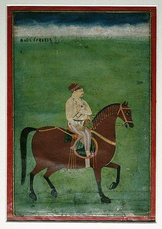 Kumaon division - Baj Bahadur of Kumaon ca. 1750.