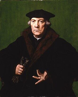 Franciscus Monachus - Image: Brooklyn Museum Portrait of Jean de Carondelet Jan Cornelisz. Vermeyen