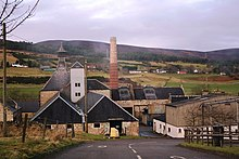 Former Brora Distillery, now a visitor centre for Clynelish distillery