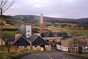 Brora distillery - Former Brora Distillery, now a visitor centre for Clynelish distillery