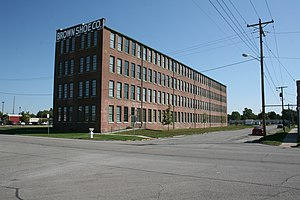 National Register of Historic Places listings in Montgomery County, Illinois - Image: Brown Shoe Company Factory