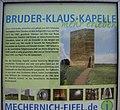 Bruder-Klaus Feldkapelle von Peter Zumthor in Mechernich-Wachendorf, Erklärungstafel.jpg