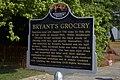 Bryant's Grocery Mississippi Freedom Trail Marker in Money, Mississippi.jpg