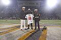 Bryce English receives Semper Fidelis Bowl Jersey 141023-M-AX780-001.jpg