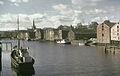 Bryggene i Nidelva (ca. 1955).jpg