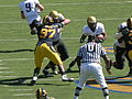Buffaloes on offense at Colorado at Cal 2010-09-11 22.JPG