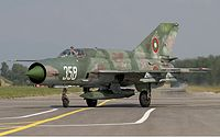 Bulgarian Air Force Mikoyan-Gurevich MiG-21bis Lofting-2