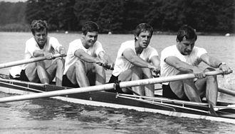 Thomas Greiner - Greiner (2nd from left) in 1982