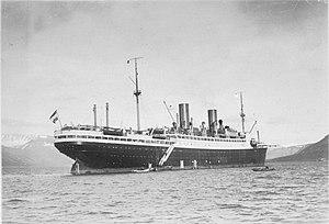 """SS General von Steuben - Image: Bundesarchiv N 1572 Bild 1925 079, Polarfahrt mit Dampfer """"München"""", Advent Bay"""