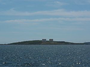 Bunker's Island, Nova Scotia - Bunker's Island as seen from Yarmouth