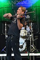 Burgfolk Festival 2013 - The Sandsacks 06.jpg