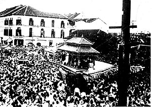 Kelantan - Thousands flocked into the streets of Kota Bharu to witness the Burung Petala Procession in 1933.