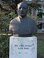 Bust of Szilárd Zielinski by Tibor Zielinski, 2016 Ujbuda.jpg
