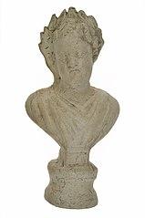 Buste van een jongen (Bacchus?) in terracotta