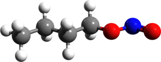 Butyl nitrite - Image: Butyl nitrite 3d structure