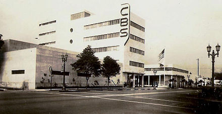 The CBS West Coast headquarters in Columbia Square reflected its industry stature while hosting its top Hollywood talent.
