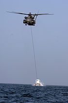 CH-53 minesweeping