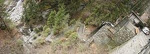 Viamala - Tourist access at the gorge