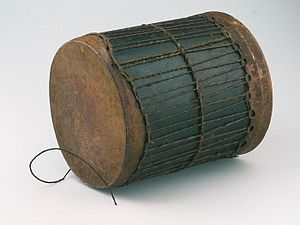 Culture of Kenya - A traditional Kenyan drum, similar to the Djembe of West Africa.