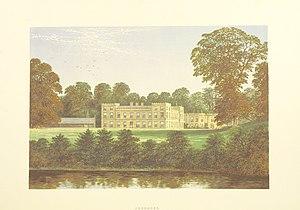 Ugbrooke - Ugbrooke from Morris's County Seats (1869)