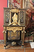 Cabinet sur pi%C3%A8tement - Cabinet on stand - Vers 1690-1710 - Boulle - Louvre - OA 5469