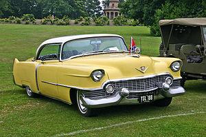 Cadillac Coupe de Ville 1954. The Coupe de Vil...