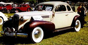 Cadillac Series 60 - Image: Cadillac Series 37 6027 Sport Coupe 1937